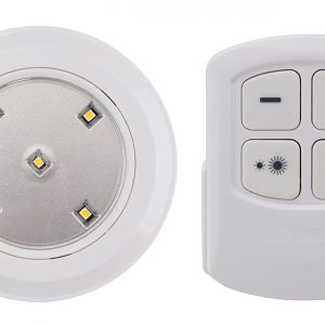 Led Wireless Puck Light with Remote Control