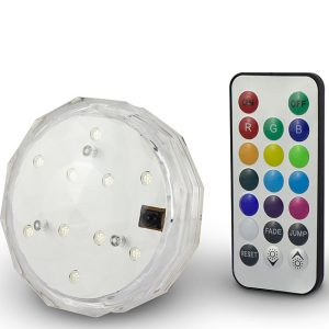 13 Colors Waterproof Led Puck Light
