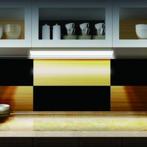 Wide Panel Under Cabinet Light Integrated